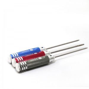 TFL Tool Hexagon Screwdriver 1.5mm/2.0mm/2.5mm/3mm metric 4pcs Kits for RC Model