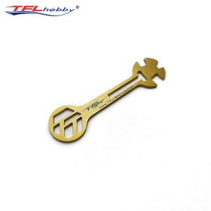 Functional Gold-plated Wrench