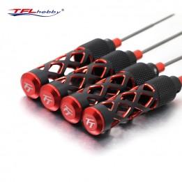 TFL RC Tool H1.5,H2.0,H2.5,H3.0mm Titanium Steel Hexagon Screwdriver  Kits TT310911