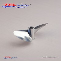 Metal 2 blade Propeller 72x1.4x6.35mm