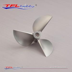 CNC 3 blade Propeller 67x1.7x6.35mm