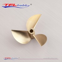 CNC  3blade copper Propeller70x1.6x6.35mm