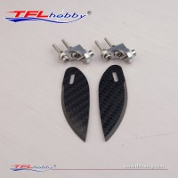 Carbon Fiber  24mm Turn Fin