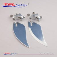 Aluminum 30mm Turn fin