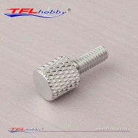 Aluminum 13mm Knurled Screw