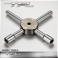 4 in 1 Allen Cross Handle Socket Wrench