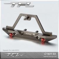 CNC Aluminum Rear Bumper W/ Spare Tire Carrier