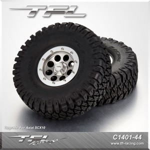 116mm Tires With CNC 1.9 Inch Beadlock 8 holes Wheels