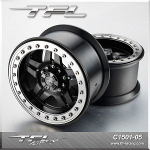 3.8 Inch Beadlock 5-Spoked Wheels