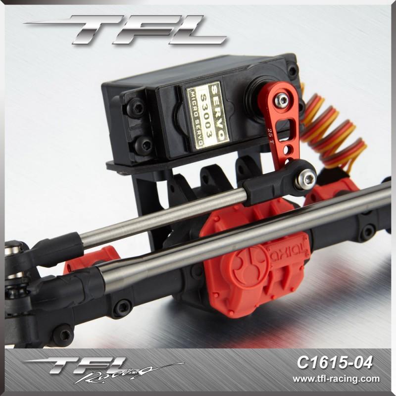 Servo Mount W Steering Rod For Axial Scx10 Ii