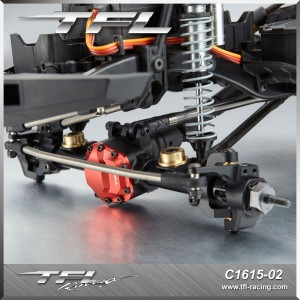SCX10 II Steering Linkage Rod on Front Axle