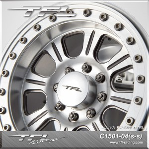 3.8 Inch Beadlock 8-Spoked Wheels