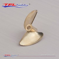3.18mm  2 blade 30 Brass  Prop.