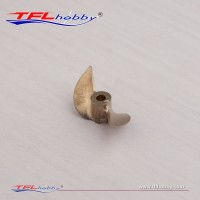 3.18mm  2 blade 32 Brass Prop.