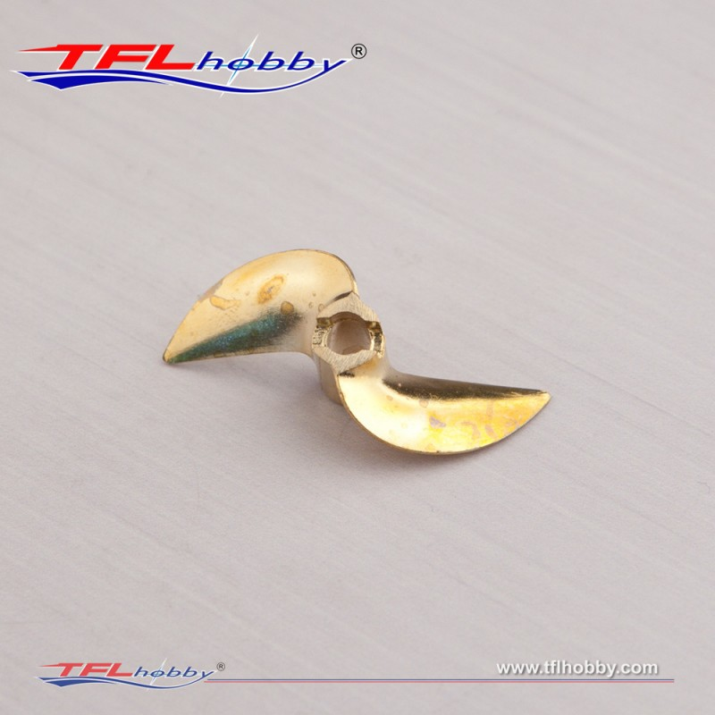 4 76mm 2 Blade 42 Brass Prop
