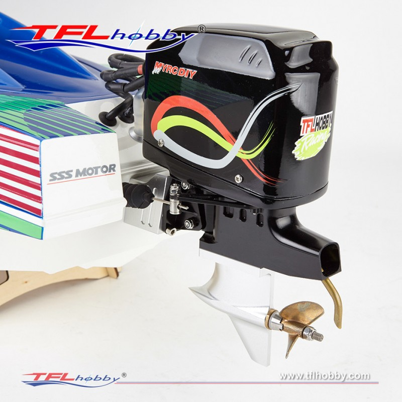 1148 Warrior 35 Quot Outboard Brushless Rc Boat