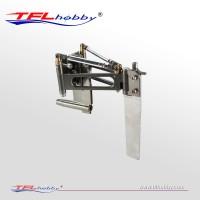 Aluminum Rudder Set W/ Sturt For Gasoline/Electric Boat