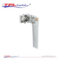 Aluminum Rudder 165mm With Dual Water Inlet For RC Boat Marine