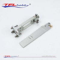 Aluminum Rudder 170mm With Dual Water Inlet