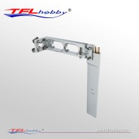 Aluminum Rudder 180mm With Dual Water Inlet