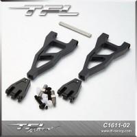 TFL CNC Aluminum Upper/Lower Suspension Arm For Redcat Terremoto V2 1/8 Scale Truck