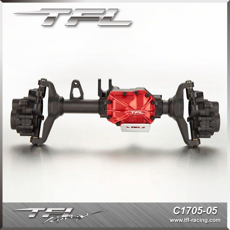 Tfl Cnc Aluminum Front Rear Axle Housing Set For Traxxas