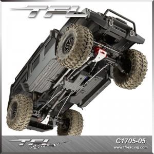 TFL CNC Aluminum Front Rear Axle Housing Set For Traxxas TRX-4 Crawler C1705-05