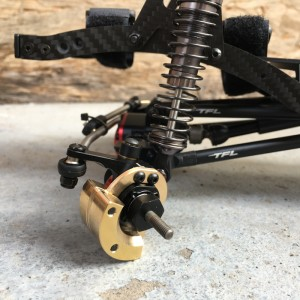 TFL SCX10II Front and Rear Axles Counterweight for 1.9 Wheels