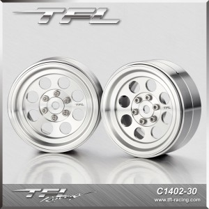 TFL 2.2 Inch CNC Wheels offse+2.5mm design A/C 2 pcs for RC Car C1402-30/32S/32B