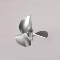 TFL CNC Machined 3 blade Aluminum Propeller 55x1.8x4.76mm 5518350/5518350R