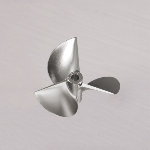 TFL CNC Machined 3 blade Aluminum Propeller 55x1.8x4.76mm 5518350/5518350R
