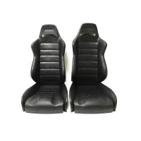 Racing Seat /Drive Simulation Decoration Driver's Seat for 1/8 RC Climbing Car(a pair)