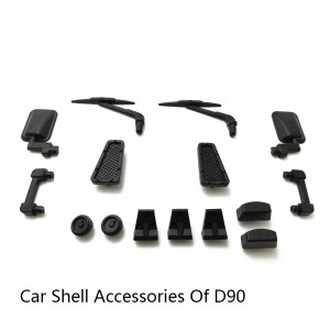 1/18Model Car Shell D90 Shell WPL MN Model MN-90 MN-91 JJRC RC Buggy Truck Modified(Free shipping)