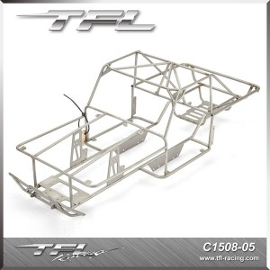 TFL Stainless steel Chassis suitable for C1508 Cralwer car C1508-05