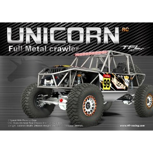 TFL AXIAL RR10 for Full Metal Chassis For TFL Unicorn Crawler Car C1805-06