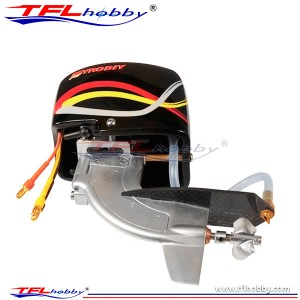 TFL Outboard Drive System with CNC 3214250 Prop, motor & shaft for RC Boat 542B20