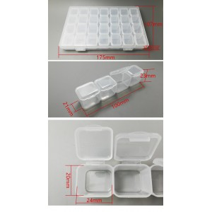 TFL storage box specially used for storaging screws and other small accessories