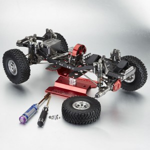 TFL RC Car Stand with Rotating Plate In Multiple Colour For RC Crawler Buggy