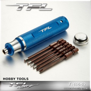TFL Interchangeable 8-in-1/ 6-in-1 Mini Multi-function Screwdriver Set for RC Models