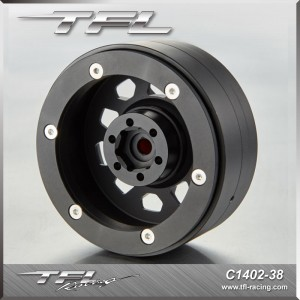 TFL 2.2 Inch CNC Wheels offse+2mm design I/J 2 pcs for RC Car C1402-38/39