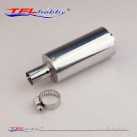TFL L=110/120 Stainless Steel Exhaust Pipe w/ Muffler and clamp